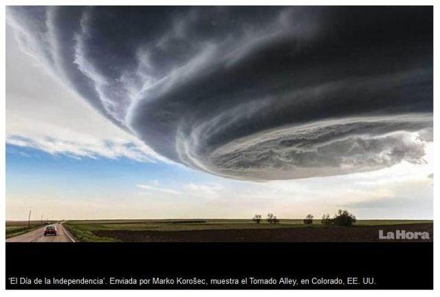 Tornado ganz besonderer Art